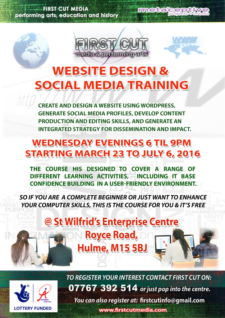 web and social media training